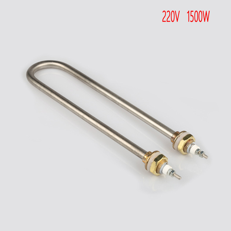 U type electric heat pipe,U-shape heating element,220V 1500 w U type tube, heating tube,pipe heater,electric heating tube fryer soybean milk machine water heater heating element air heating electrical part shape electric heat pipe