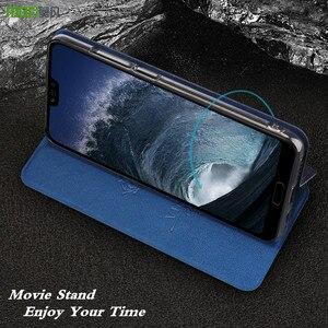 Image 2 - MOFi オリジナルフリップケース Huawei 社の名誉のため 10 Honor10 用 Pu レザーケース Tpu シリコーン conque