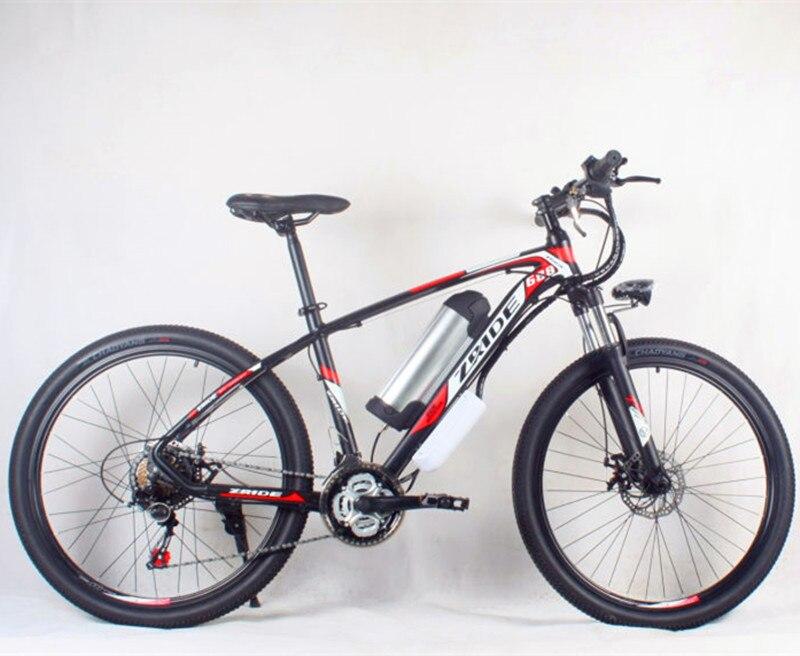 Di alta qualità telaio in lega di alluminio 48 V * 500 Watt 12Ah mountain bike hybrid bicicletta elettrica al litio batteria al litio moto b