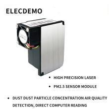High-precision laser pm2.5 sensor PM2.5 detection module dust particle concentration air quality computer