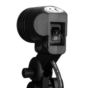 Image 5 - Godox Lh 01 Ac Slave Işık E27 Soket w/şemsiye tutucu Softbox Işık Standı Montaj