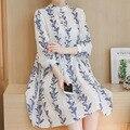 2017 беременность платья полный для беременных Весна surmur материнства мода для беременных шифон dress необычные платья беременности