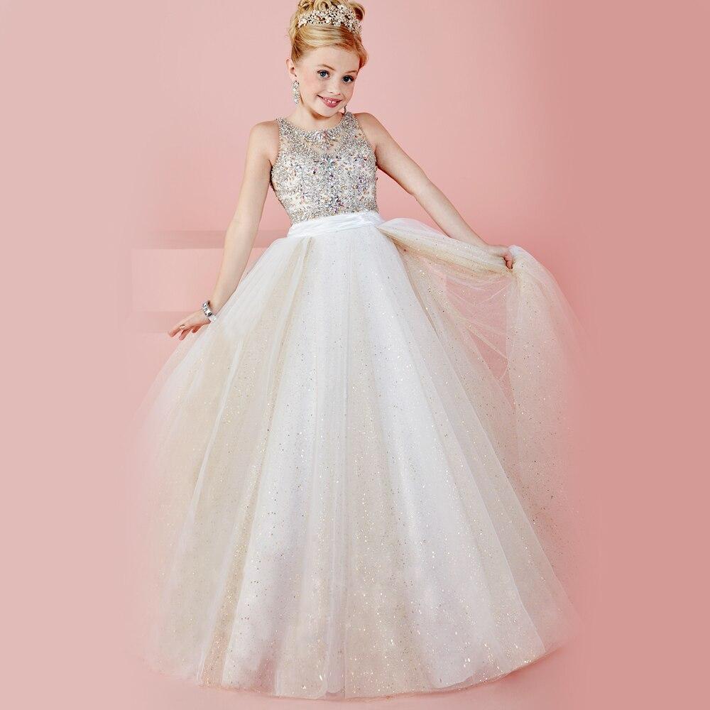 Online Get Cheap Pageant Dresses Little Girls -Aliexpress.com ...