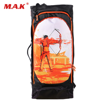 2 Color Tubes Arrow Quiver for Archery Hunting Arrows Holder Bag with Adjustable Strap
