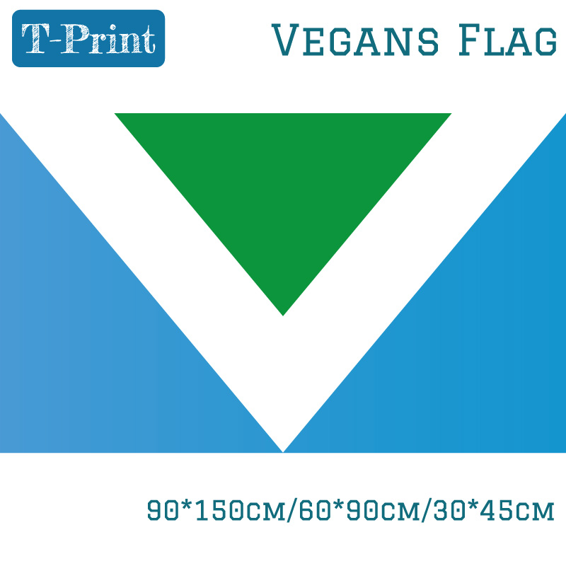 60 90cm Banner Flying 150 90cm Veganism Flag International Vegans Flag For World Vegetarian Day 15 21cm Flags Banners Accessories Aliexpress