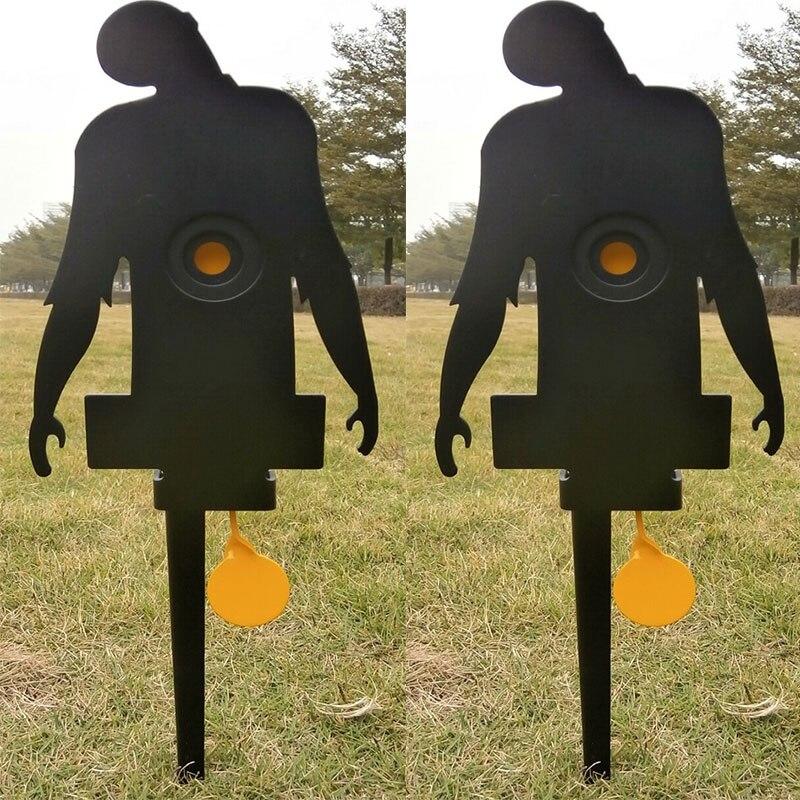 Cible de terrain de corbeau Airgun W. 2 anneaux de bullseyes cachés/également pour le tir de Paintball Airsoft/amélioration du tir de chasse