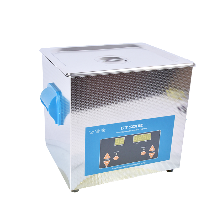 1 шт. цифровой VGT 1990QTD 110/220 V Профессиональная Ультразвуковая баня ювелирные изделия для ванной бытовой 9L 200 Вт Регулируемая Бесплатная корзина - 2