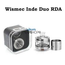 5ชิ้น/ล็อตเดิมWismec Inde Duo RDAเครื่องฉีดน้ำควบคุมการไหลของอากาศRebuildableขดลวดความร้อนบุหรี่อิเล็กทรอนิกส์ตัวเลือกRDA