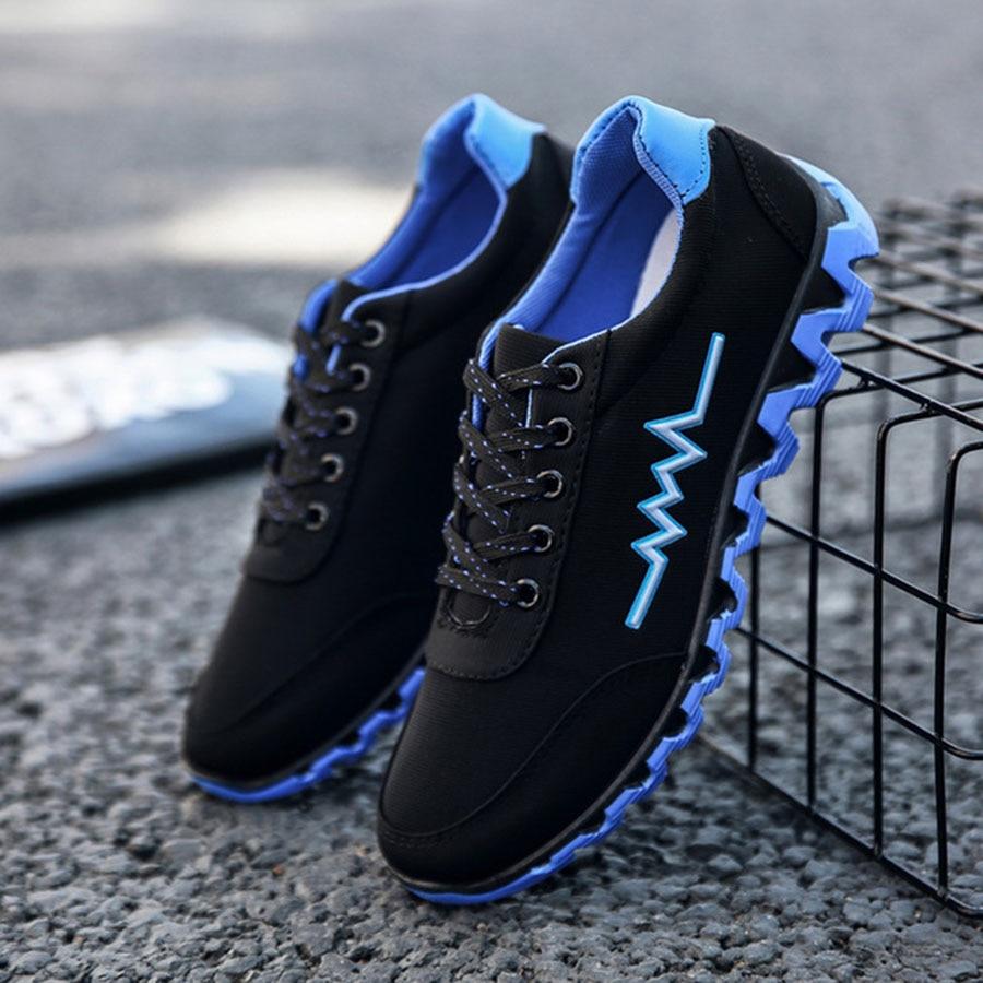 Et Coloré Printemps Chaussures Slip Personnalisé Casual Cool Étudiants Sneakers Mode vert Hommes De Non Sport Nouveau Bleu Tendance orange pqqYfwRB