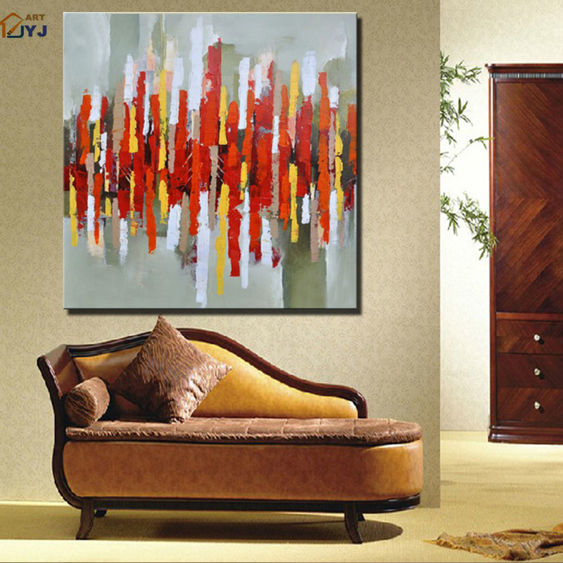 Direct from Artist Quality Hand Painted Modern Abstract Oil Painting Canvas Wall Art Home Decoration Gift No Framed SL010