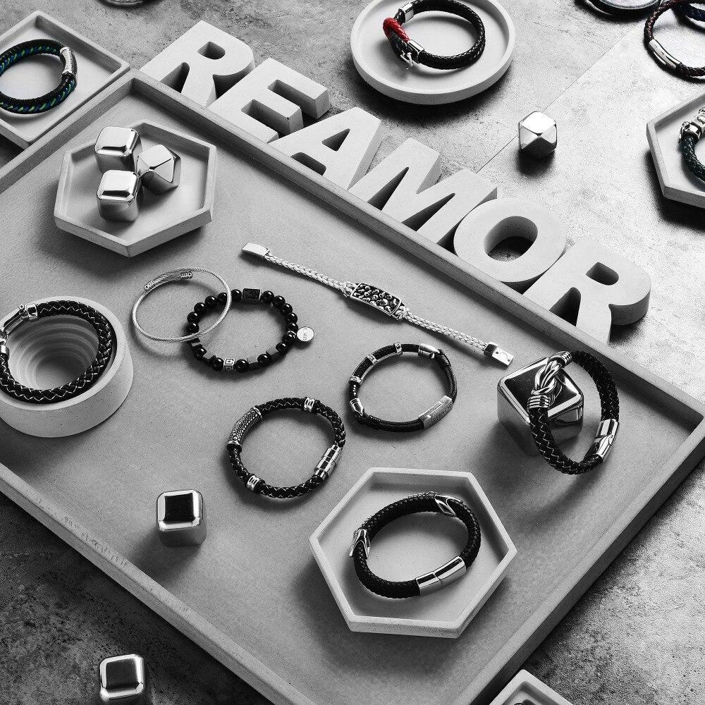 REAMOR баспайтын болат үлкен тесігі - Сәндік зергерлік бұйымдар - фото 5