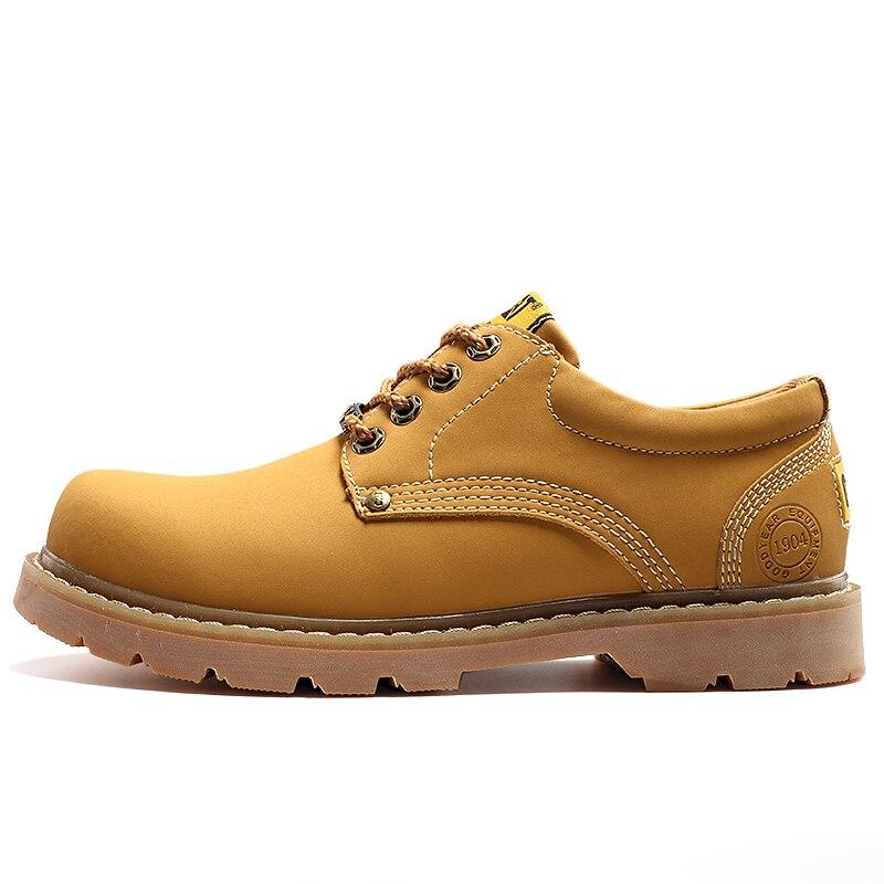 Brand Super Warm Men's Winter Leather Men Waterproof Rubber Snow Boots Leisure Boots England Retro Shoes for Men Big Size 5 big size winter warm leisure shoes
