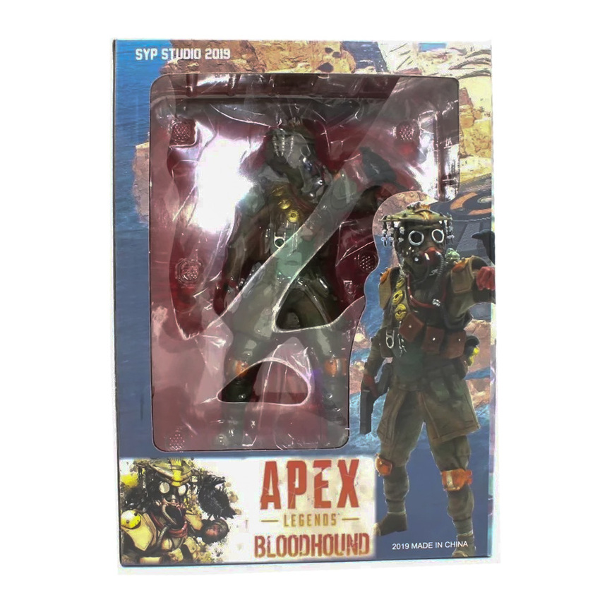 Collections Bloodhound Technological Tracker Action Figure <font><b>APEX</b></font> Legends Figure PVC Model <font><b>Toys</b></font> image