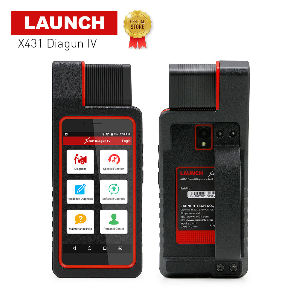 LAUNCH X431 Diagun IV Global Version Full System Auto Diagnostic Tool Support Bluetooth/Wifi Better Than X431 Diagun III Scanner