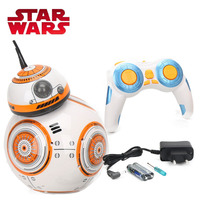 17cm Star Wars Toy RC BB8 Robot 2 4G Upgrade Remote Control Toys BB8 Robot PVC