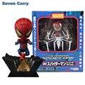 """Nendoroid 4 """"Spider-Man #260 Spider Man Homem-Aranha PVC Action Figure Coleção Modelo Brinquedos Do Bebê CSCEZ8"""
