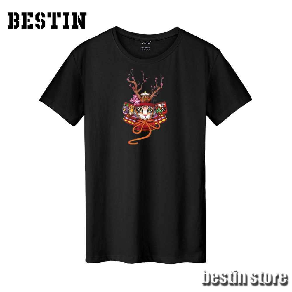 Bestin/новый японский стиль, Koi Fish Cat Street, хлопковая Футболка/Толстовка/толстовки/жилет унисекс, Harajuku, хорошее качество, хипстер X912