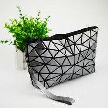 2017 New Japan Baobao Clutch Handbags Messenger Bag Bao Women Make Up Laser Sac Bags Geometry Envelope Clutch Phone Small Bag