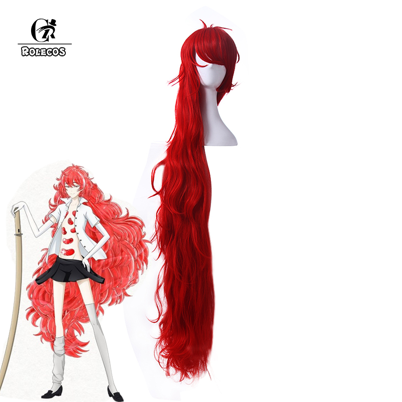 ROLECOS Land of the Lustrous Cosplay Headwear Padparadscha Cosplay 150cm / 59 inches Short Blue Synthetic Hair