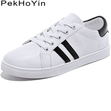 Brand Leather Fashion Sneakers Women Flats Shoes Zapatos Mujer Female Walking Outdoor Casual Designer White