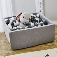 Square Play Pool Baby Ocean Ball Pool Soft Sponge Ball Pool Funny Playground Pit Playhouse Toy For Children Gift Indoor Outdoor