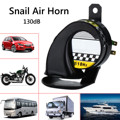 Auto 12V Wasserdicht Schnecke Luft Motorrad Horn Sirene Laut 130dB Für Lkw Motorrad-in Motorradhupen aus Kraftfahrzeuge und Motorräder bei