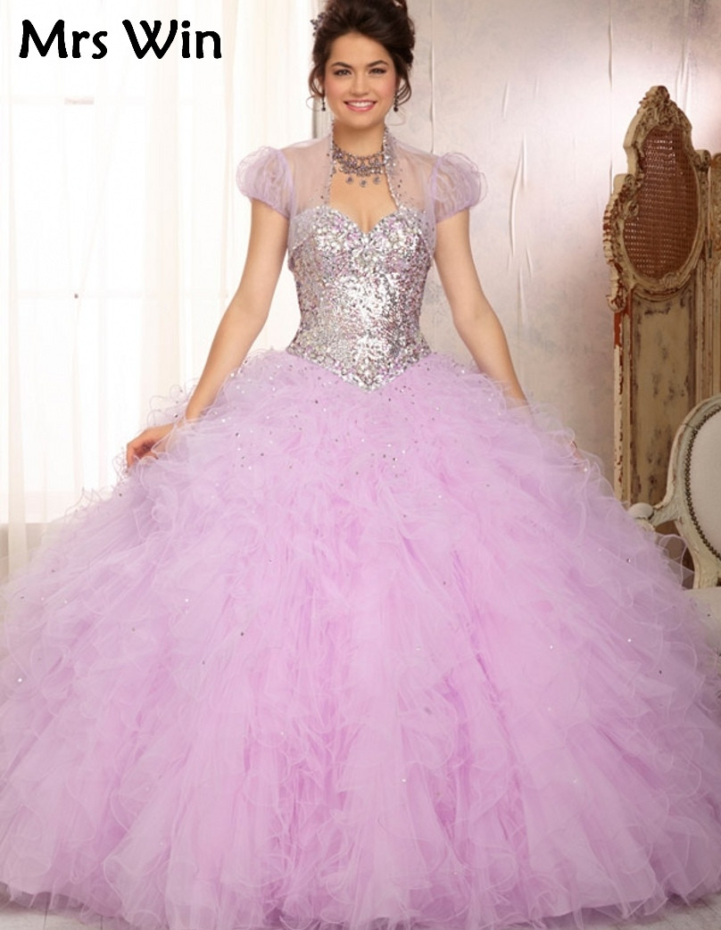 Online Get Cheap White and Purple Ball Gowns -Aliexpress.com ...