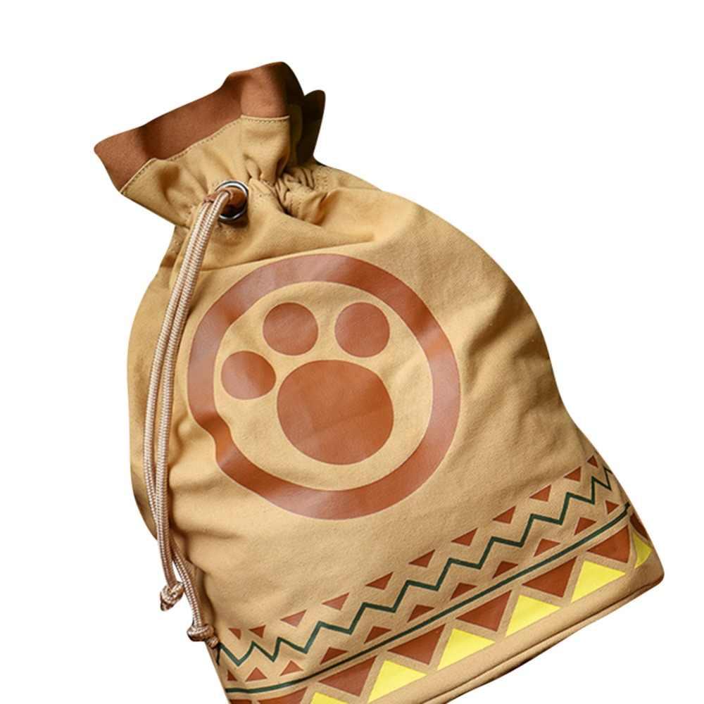 Игра Monster Hunter сумка airou airu Cat подростковый рюкзак Косплэй подарок