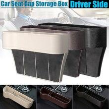 Car Driver Side ABS Plastic Seat Gap Storage Box Pocket Organizer Phone Holder U