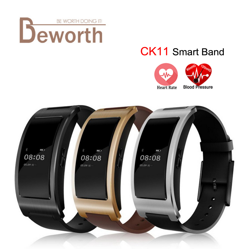 CK11 Smart Band Blood Pressure Heart Rate Blood Oxygen BT4 0 Wrist Watch Intelligent Bracelet Fitness
