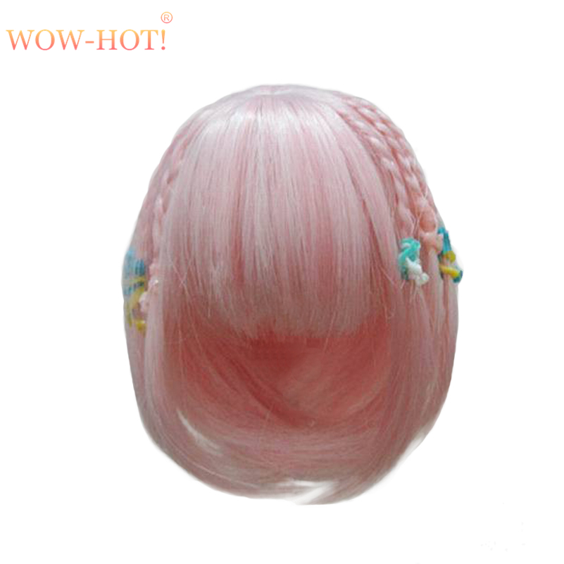 1/8 Bjd Doll Wigs for Lati Dolls High Temperature Wire Long Curly Synthetic Doll Hair for BJD Dolls Accessorries Short Wigs beioufeng 22 24cm 1 3 bjd wig long curly wigs accessories for dolls synthetic doll hair deep coffee color doll wig for dolls