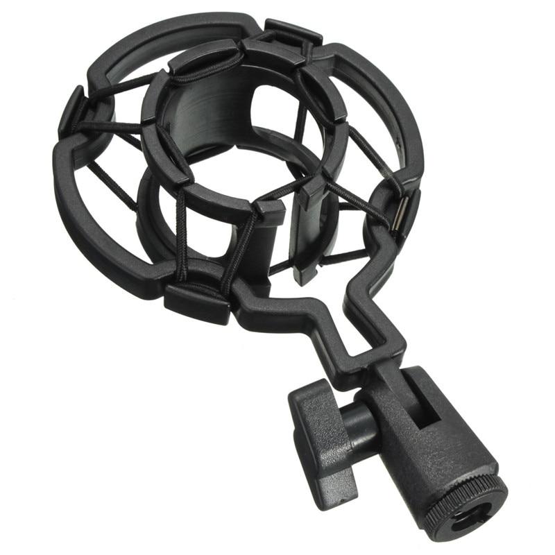 Universal Professional Condenser Microphone Mic Shock Mount Holder Studio Recording Bracket For Large Diaphram Mic Clip best quality yarmee multi functional condenser studio recording microphone xlr mic yr01