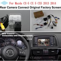 Lyudmila For Mazda CX 5 CX 5 CX5 2013 2014 / RCA & Original Screen Compatible / Car Rear View Camera / HD Back Up Reverse Camera