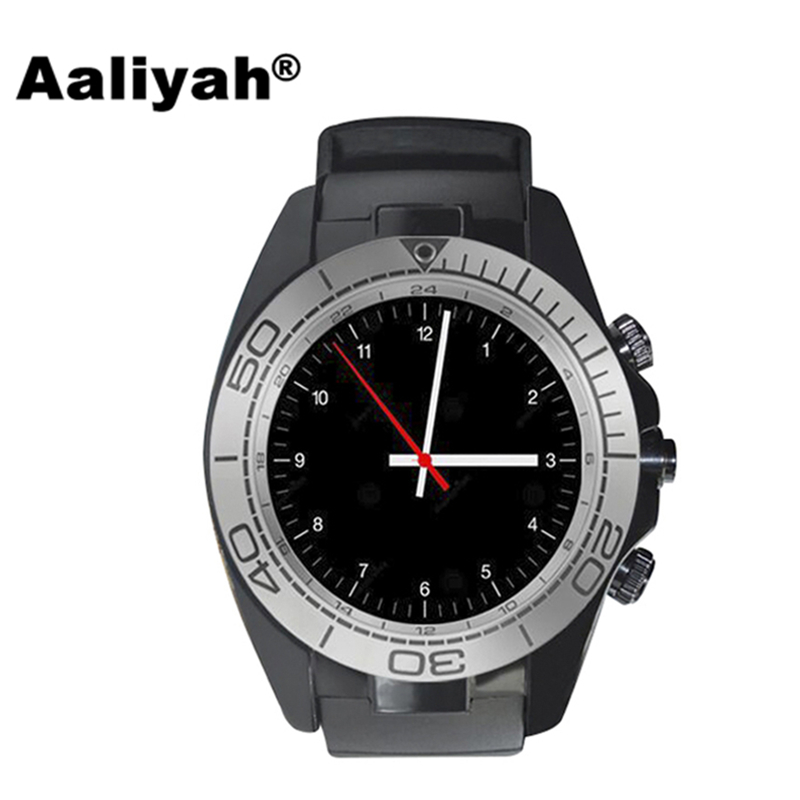 Aaliyah SW007 Bluetooth Smart Watch With Camera Pedometer Wearable Devices Support Sim TF card Men Smartwatch for Android Phone цена