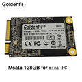Goldenfir ssd msata 128 gb mini discos 128 gb mini disco duro mini disco duro de 128 gb para mini pc