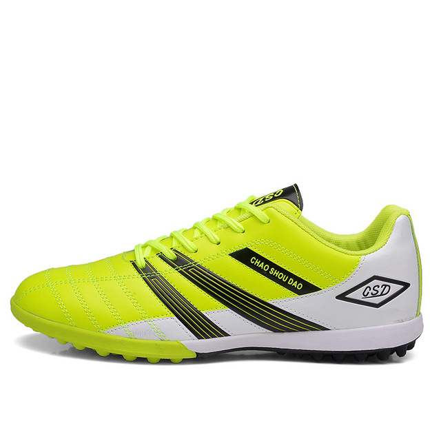 New Boy Kids Men Soccer Cleats Shoes Turf Football Boots Futsal Shoes  indoor Sport Trainers Breathable Sneakers EU Size 33 - 44 af475e9c7c84