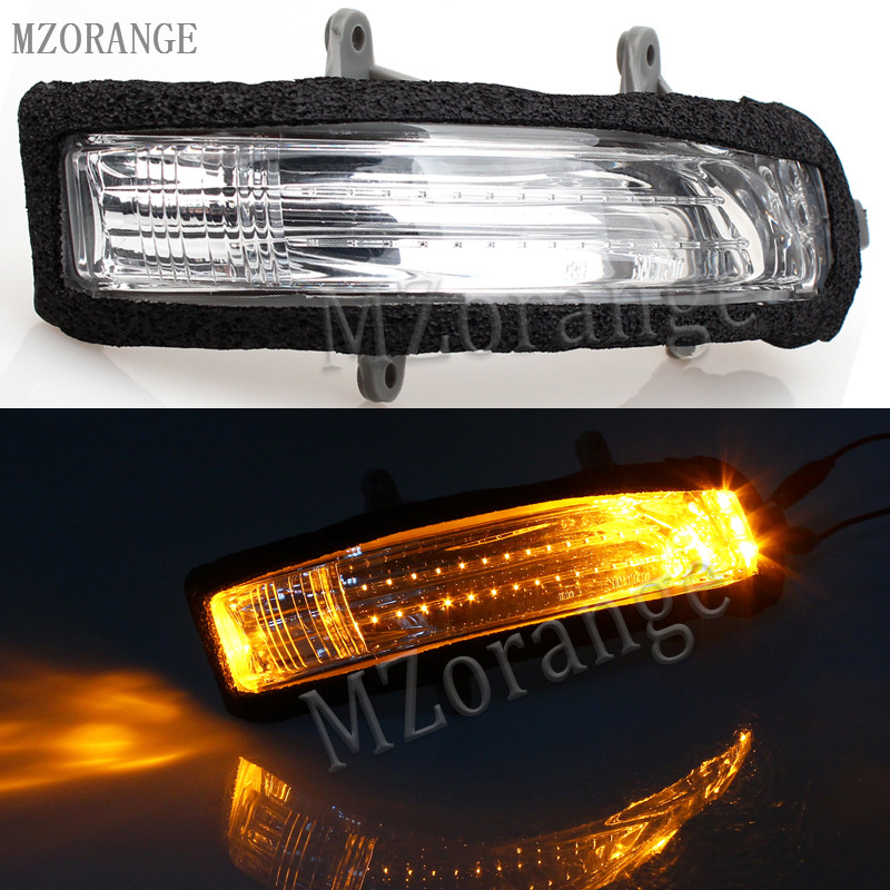 MZORANGE LED Turn Signal Light Rear View Rearview Mirror Lamp 81740-60090 FOR LAND CRUISER For LAND CRUISER PRADO 2010 2011-2016 mzorange rear view mirror turn signal mirror lights for mercedes benz w169 w245 a160 a180 a200 b160 b180 b200 high quality