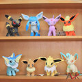 "Japan Anime Cartoon New 8pcs/lot 8"" Umbreon Eevee Espeon Jolteon Vaporeon Flareon Glaceon Leafeon Pokemon Plush Toys"