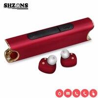 New Binaural Wireless Waterproof Bluetooth Headset S2 Mini TWS Magnetic Charging Earbud Headphones