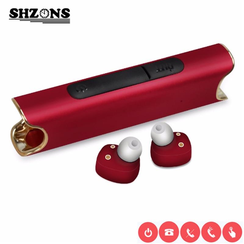 New Binaural Wireless Waterproof Bluetooth Headset S2 Mini TWS Magnetic Charging Earbud In Earphone