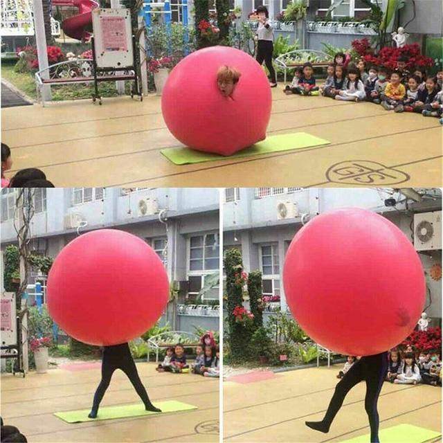 New 72 Inch Giant Latex Egg Balloon   Round human egg balloon for fun game