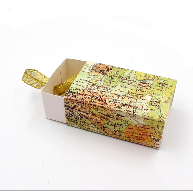 100 pcs travel the world wedding favors world map candy box drawer 100 pcs travel the world wedding favors world map candy box drawer party gift box bomboniere gumiabroncs Image collections