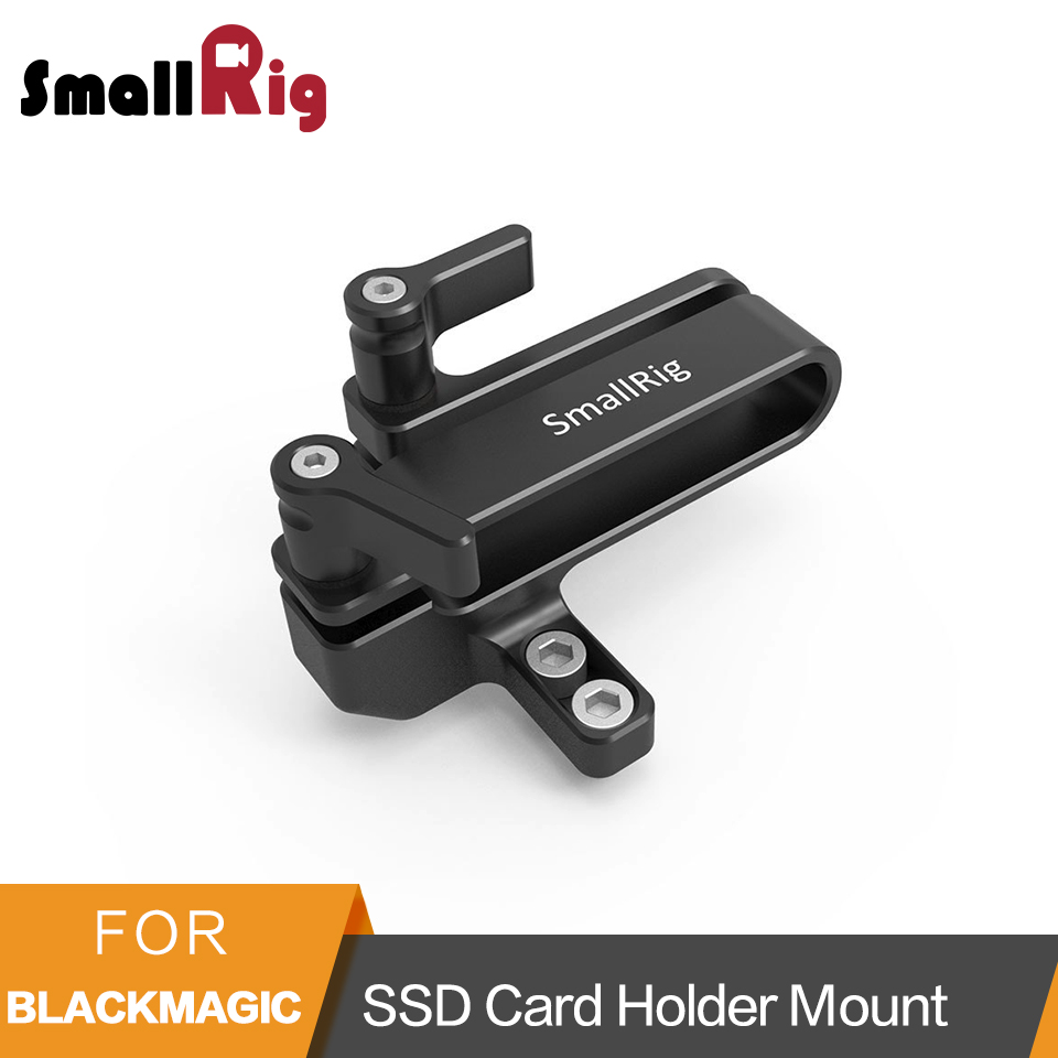 SmallRig Mount for Samsung T5 SSD Card Holder Mount Compatible With SmallRig Cage for BMPCC 4K 2203- 2245SmallRig Mount for Samsung T5 SSD Card Holder Mount Compatible With SmallRig Cage for BMPCC 4K 2203- 2245