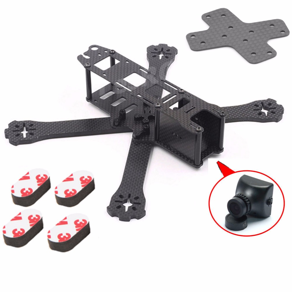 DIY Mini Drone FPV Quadcopter  Carbon Fiber QAV-R 220mm Racing Quadcopter Frame w/ PAL 2.8mm Mini 700TVL Camera carbon fiber frame diy rc plane mini drone fpv 220mm quadcopter for qav r 220 f3 6dof flight controller rs2205 2300kv motor
