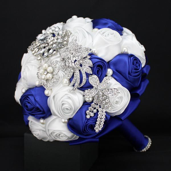 Wedding Jewelry Bridal Brooch Bouquet Pearls Crystal Home