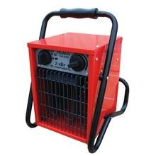 Пушка тепловая электрическая Ресанта ТЭП-2000 (3 режима мощности 650/1300/2000 Вт, площадь обогрева до 20 кв.м, Поток воздуха 200 м3/час)