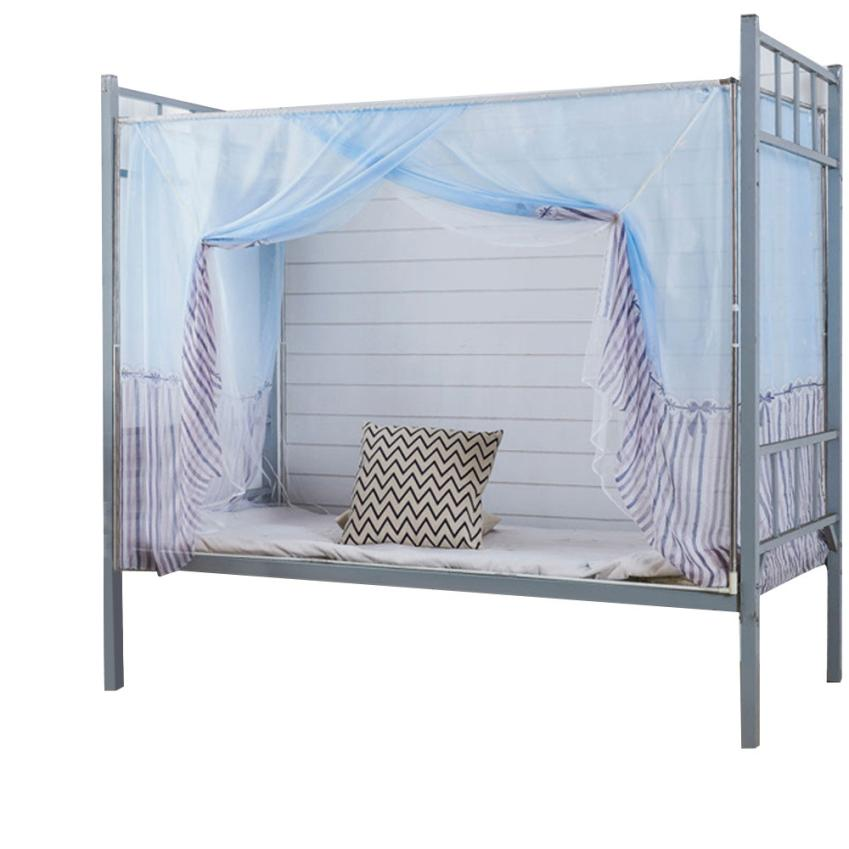 Hot! Students Dormitory Bunk Beds Nets Spread Blackout Curtains Mosquito Net environmental protection Dropshipping may30
