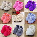 Новый 2-8 М Новорожденный Ребенок Малыш Младенец Мальчик в Девочке Зимние Теплый Снег Сапоги Детская Кровать В Обуви