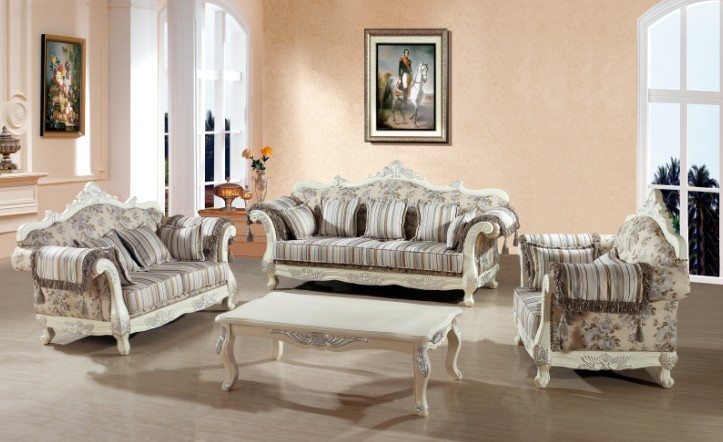 High Class Modern Australia Living Room Funiture For Fabric Sofa Set 3 2 1 With Color Made In China