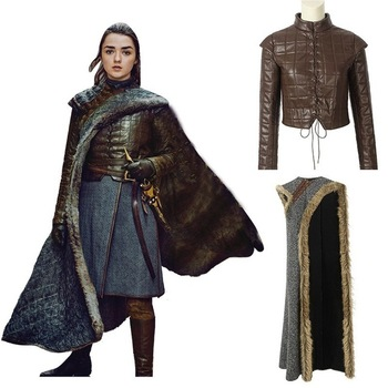 Arya Stark Costume for Cosplay